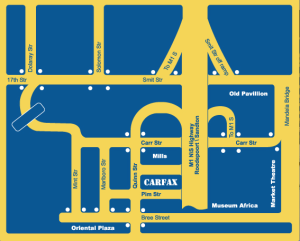 Carfax Map Graphic